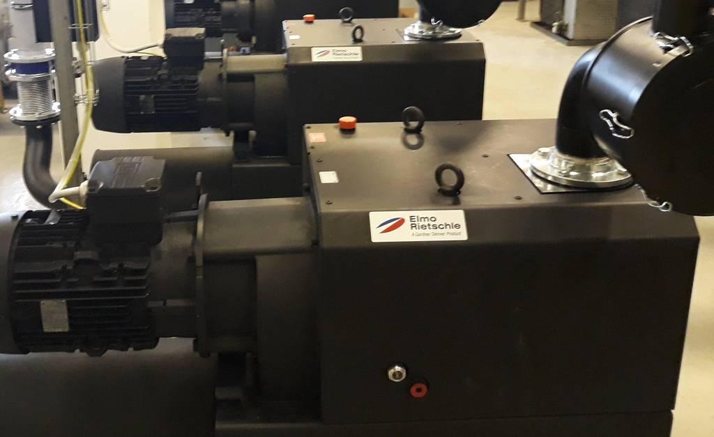 Linije za vakuum po sistemu ključ u ruke, vakuum pumpe, puhala, Elmo Rietschle