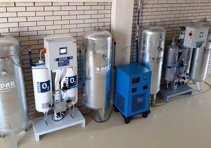 Linije za proizvodnju kisika ili dušika